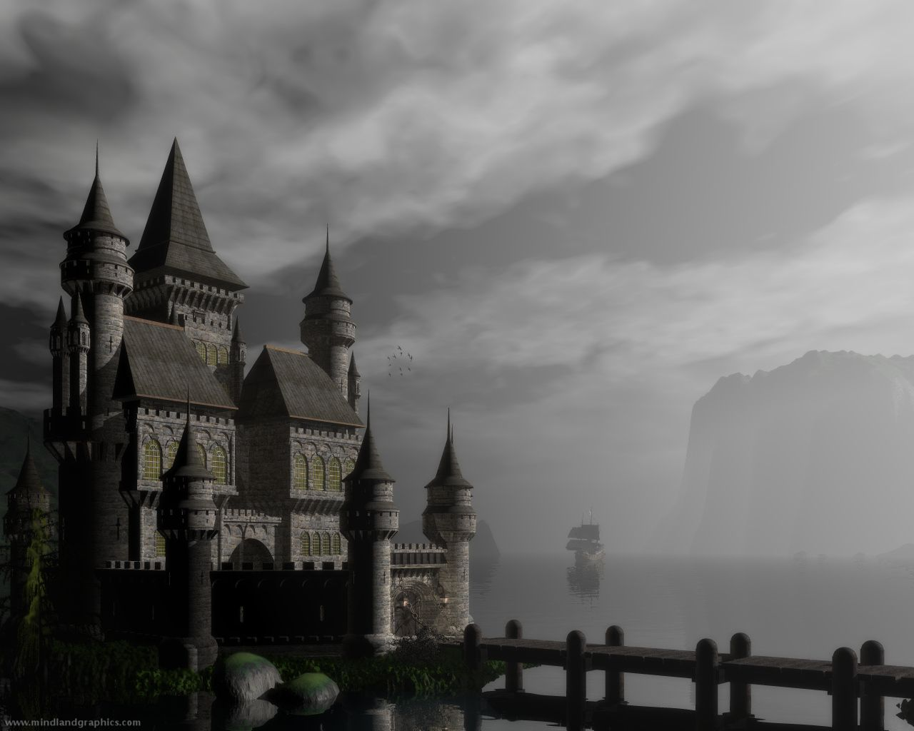 In The Distant Past Medieval Castle Dark Castle Castle