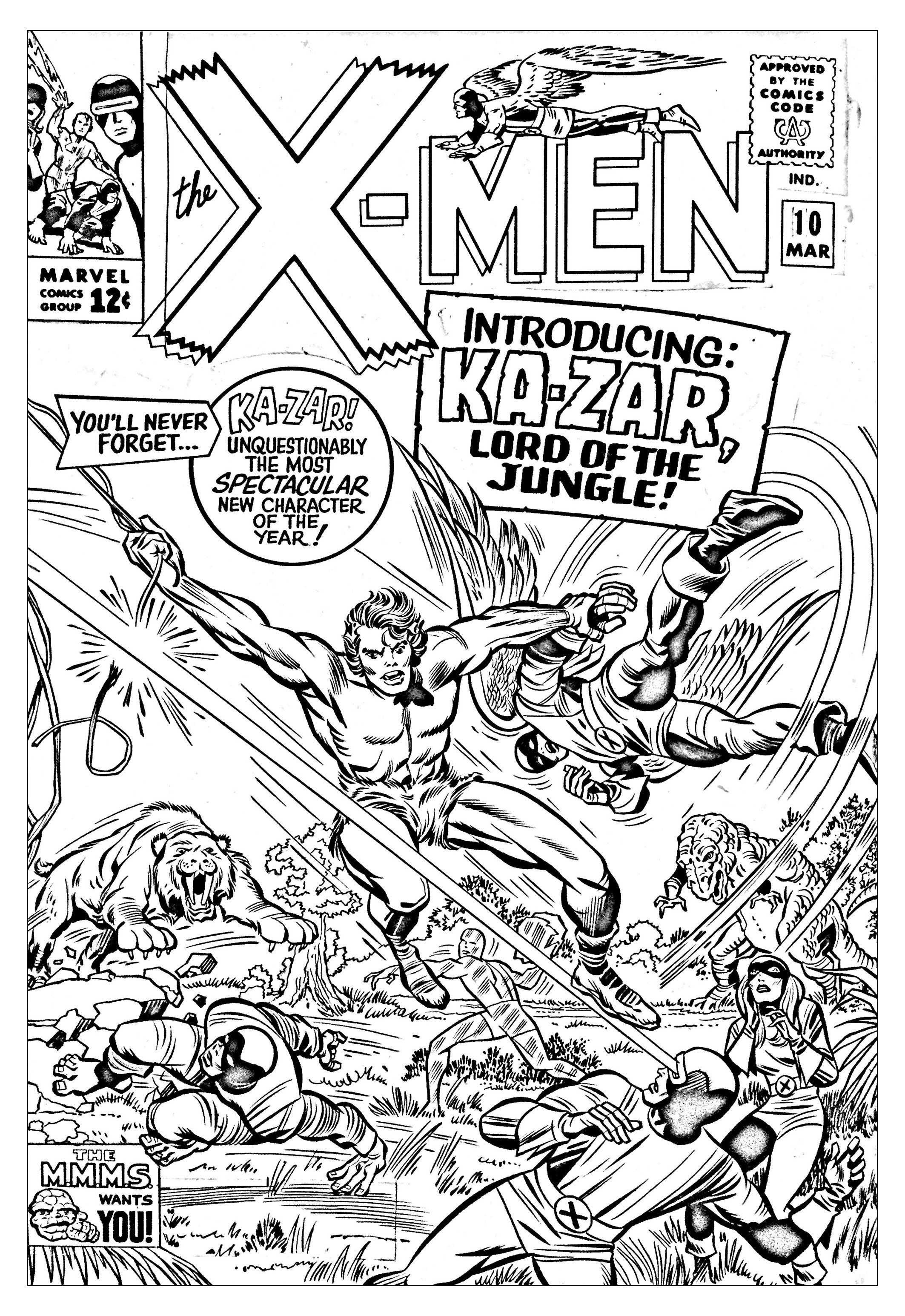 Comics Xmen 1965 Unreleased Cover From The Gallery Books