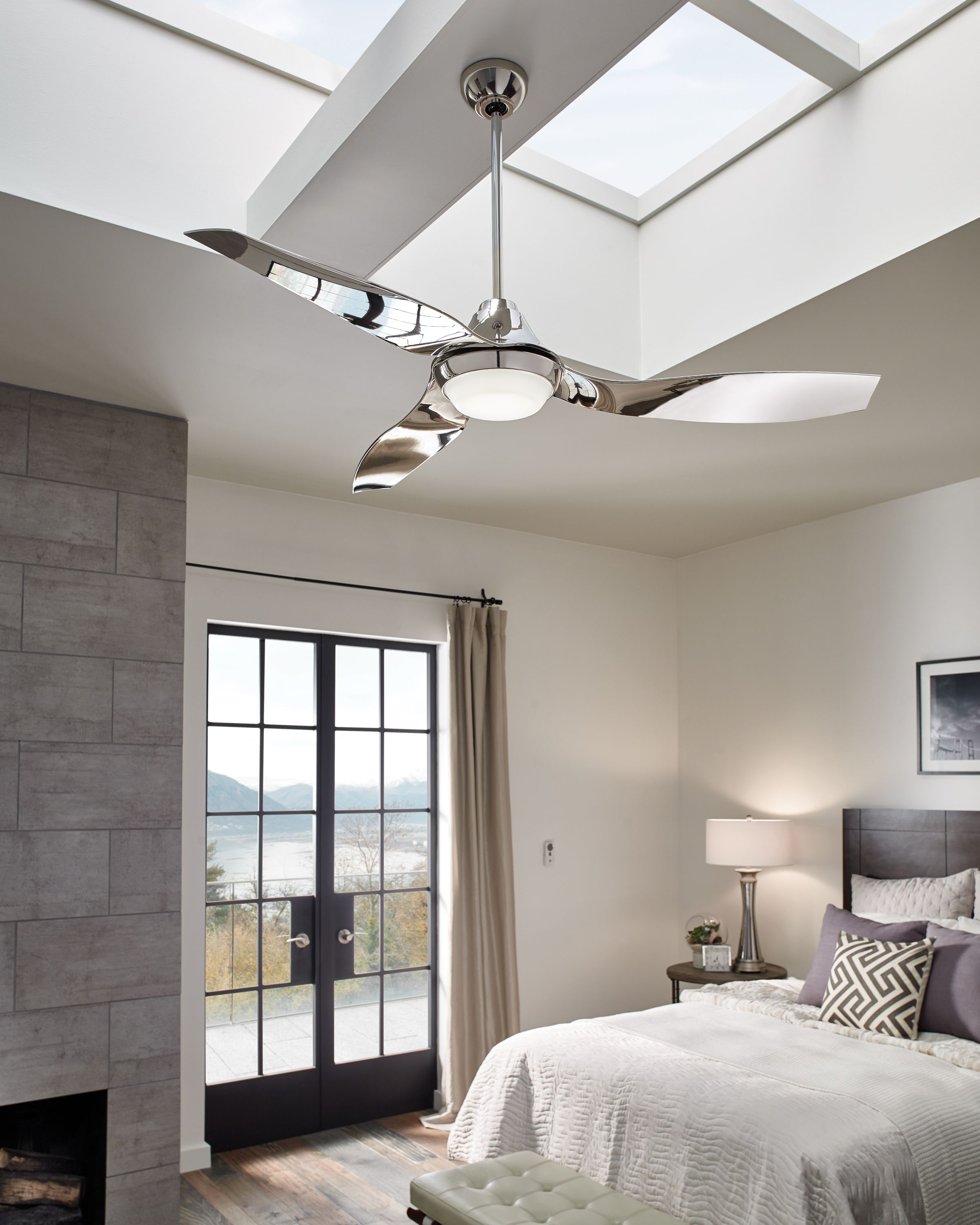 Pin by Lucy on I spy House designs! Ceiling fan bedroom