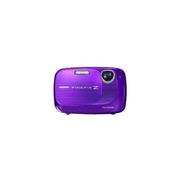 Fujifilm FinePix 10.0MP Digital Camera - Purple (Z37) : Target (€135) ❤ liked on Polyvore featuring electronics, camera, fillers, purple and purple fillers