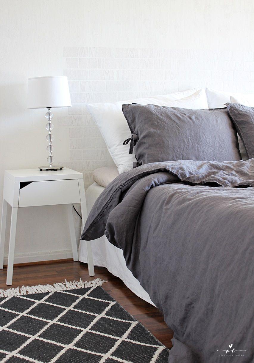 familon linen bedlinen pellava pussilakanat makuuhuone bedroom