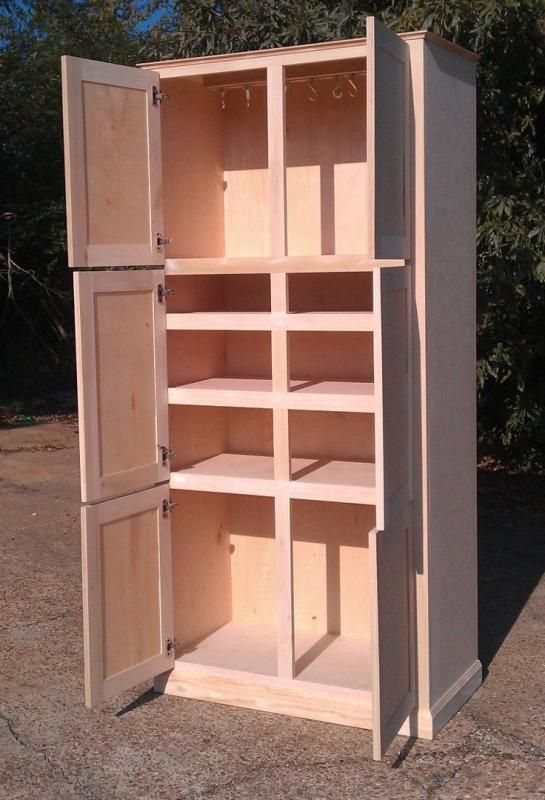 How To Make A Kitchen Pantry Cabinet Kitchen Cabinet