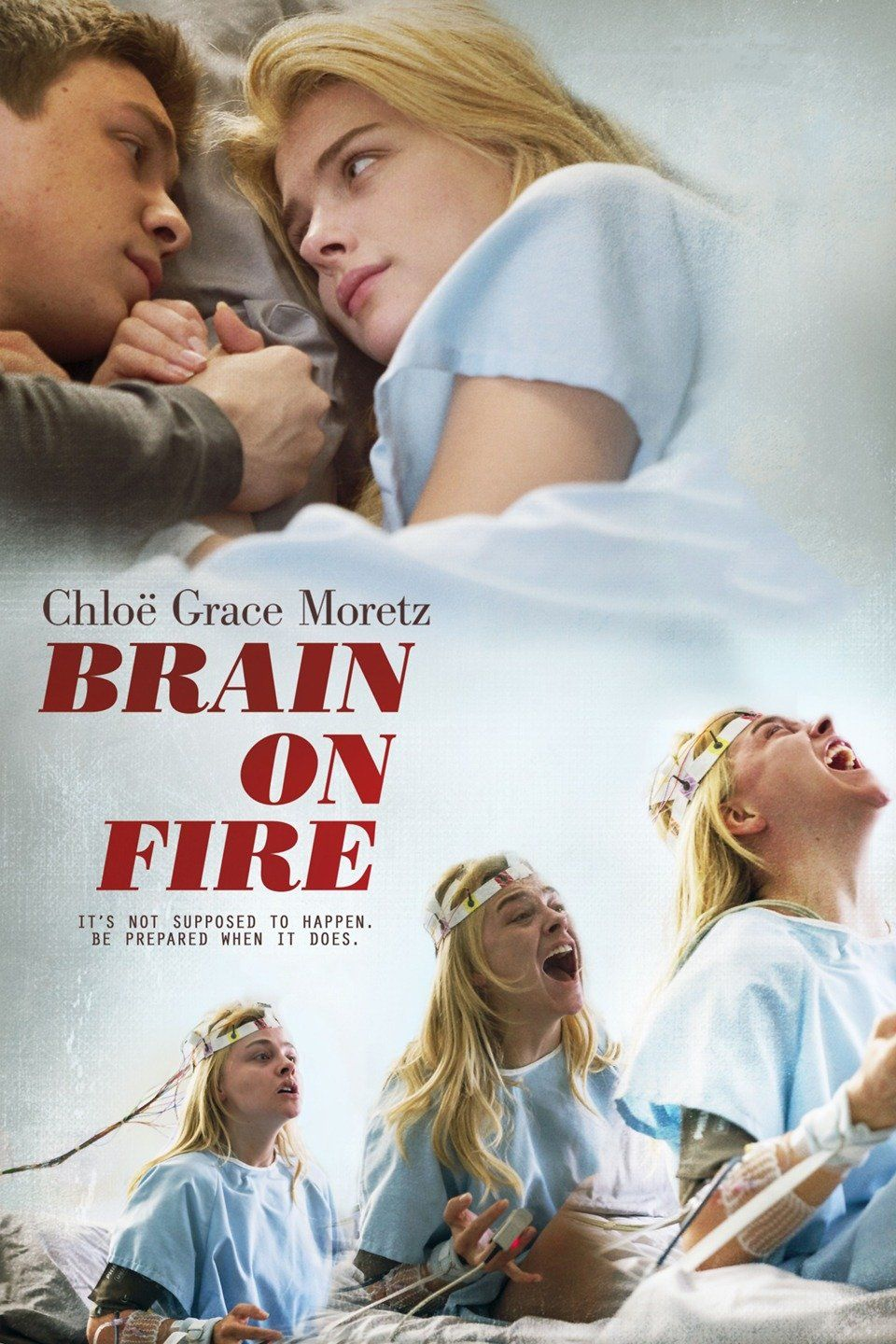"***""Brain on Fire"" (2016). Susannah Cahalan, an up-and-coming journalist at  the New York Post becomes plagued by voices in her head and seizures."