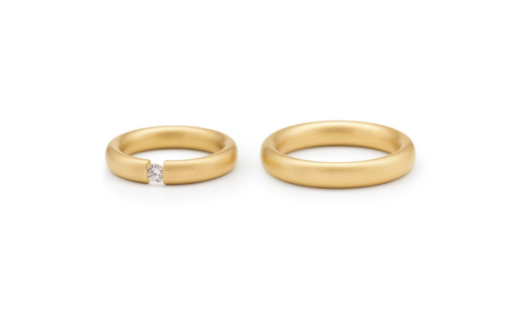 Niessing Tension Ring Oval Niessing Wedding Rings