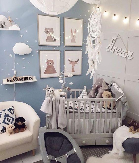 45 Beautiful Baby Girl Nursery Room Ideas Baby Boy Room Decor Nursery Baby Room Baby Girl Nursery Room