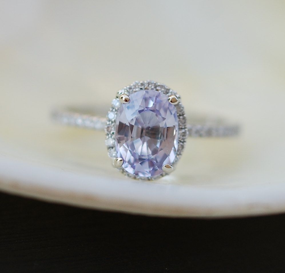 emerson diamond engagement front free sapphire kristin products dia conflict sapp gray in peach halo champagne diamonds ring ps rose vintage gold