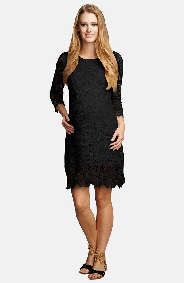 497eef6c8 Urban MA Crochet Maternity Shift Dress