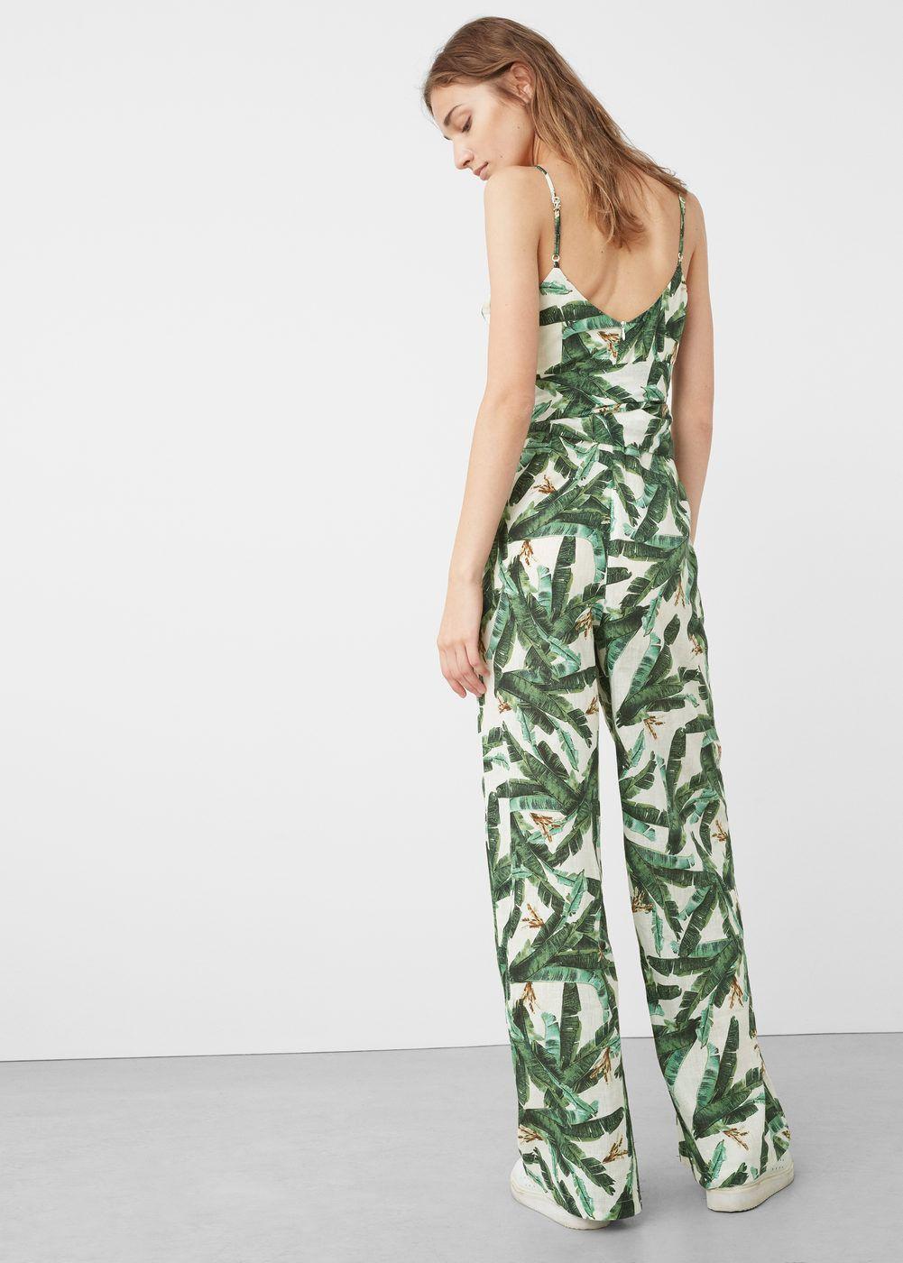92eb37c85a2 Tropical print jumpsuit - Woman