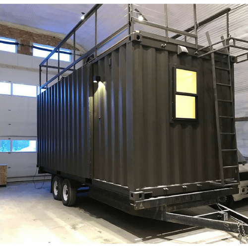 Vista C Tiny Container Home Prefab Shipping Container