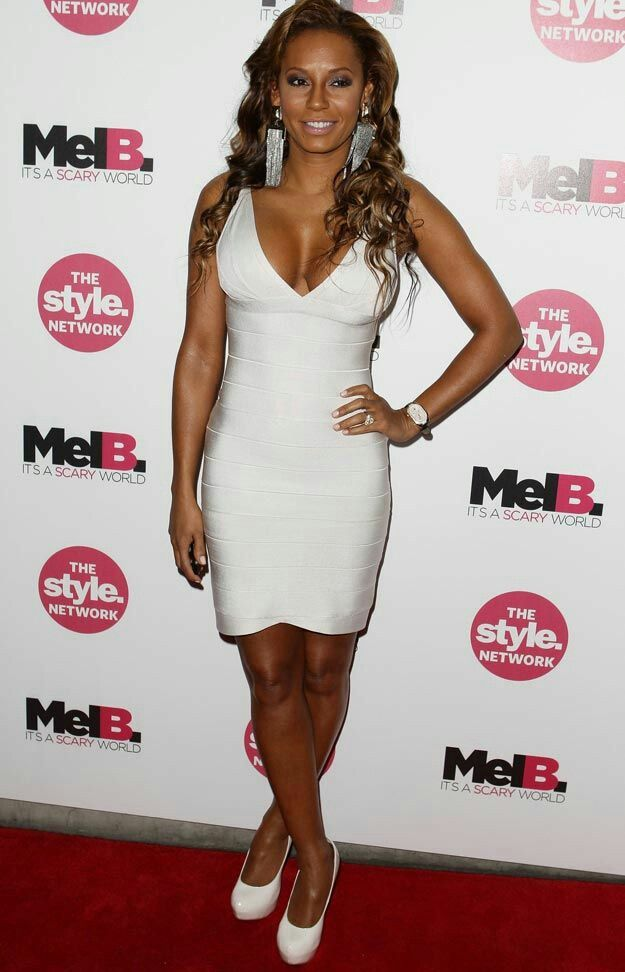 26b01c943e White Deep V Neck Strappy Celeb Inspired Bandage Dress. White Classy arched  skirt bandage dress! A celeb favorite!