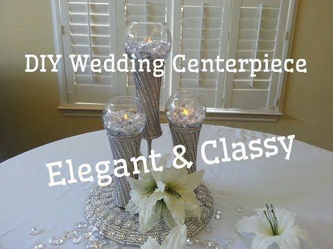 Youtube Dollar Tree Diy Wedding Tree Wedding Centerpieces Wedding Centerpieces Diy
