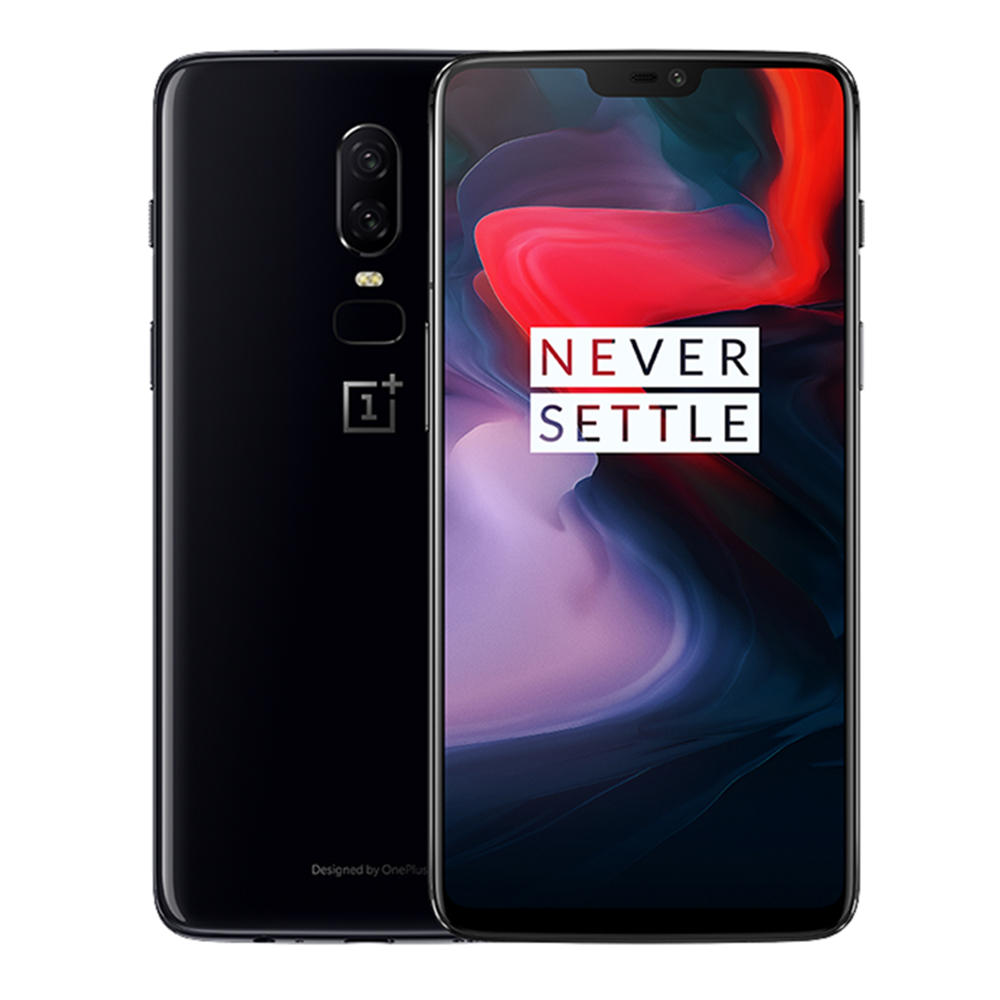 "Résultat de recherche d'images pour ""OnePlus 6 4G Phablet 8GB RAM 128 GB de ROM International Version - MIRROR BLACK gearbest"""