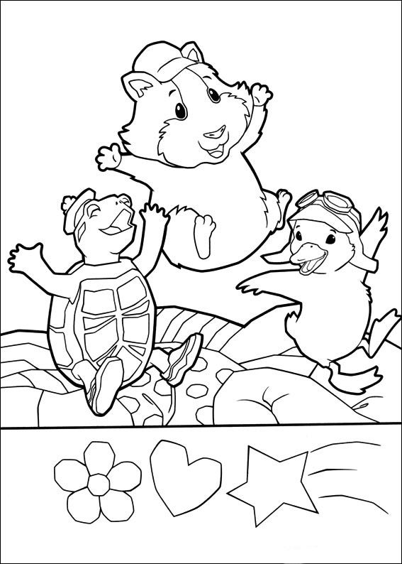 Wonder Pets Coloring Pages 31 Kellan S Wonder Pets 2nd Birthday