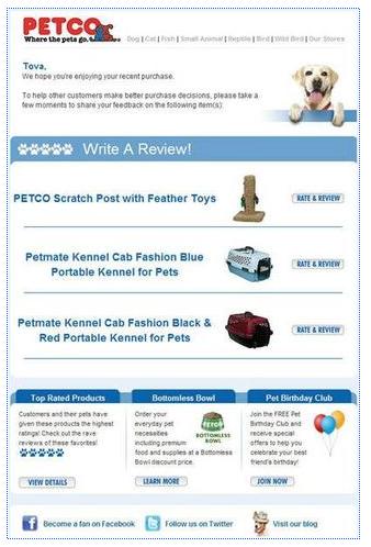 Petco Review Email Petco, Pet mat, Reviews