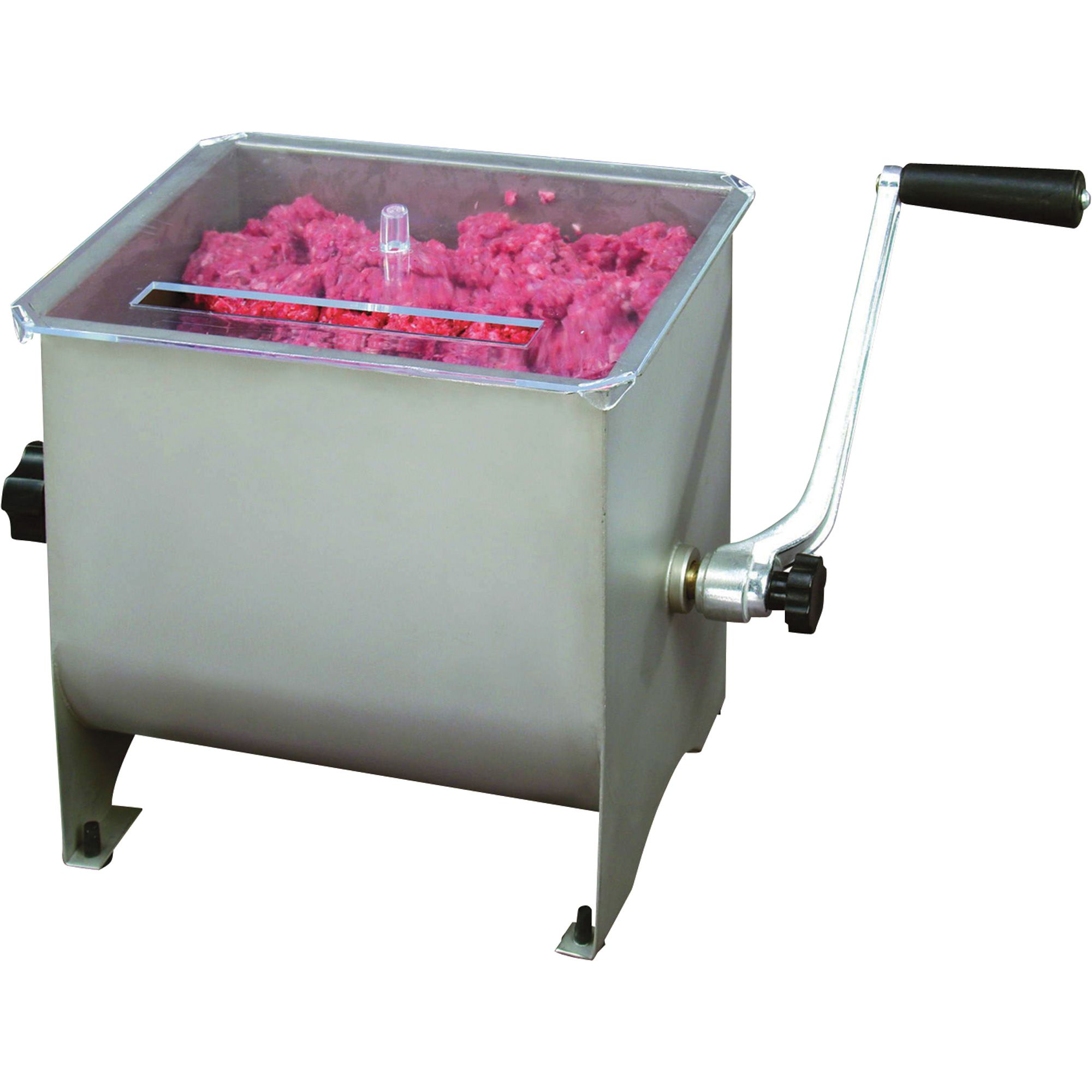 Kitchener 4.2-Gallon Stainless Steel Meat Mixer   Mixers Tenderizers ...