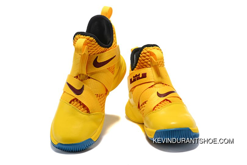 Super Deals Nike Lebron Soldier 12 Cavs Yellow Black Price 95 90 Kevin Durant Kd Shoes Mens Nike Shoes Nike Lebron Nike Basketball Shoes