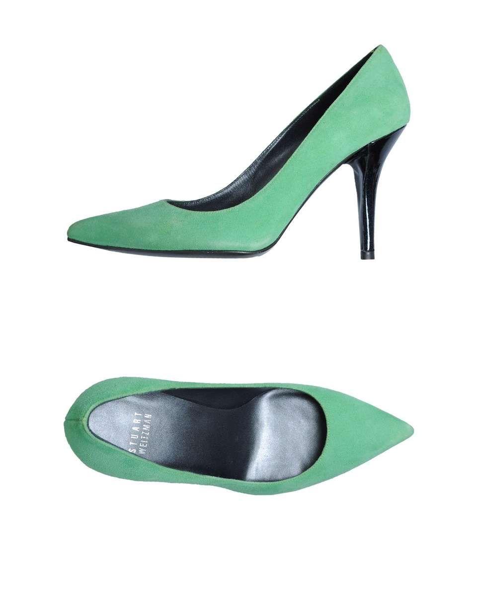 STUART WEITZMAN Closed-toe slip-on #womens #stuartweitzman #closed-toe #slip-on #pumps #shoes #heels #green #love #wantering