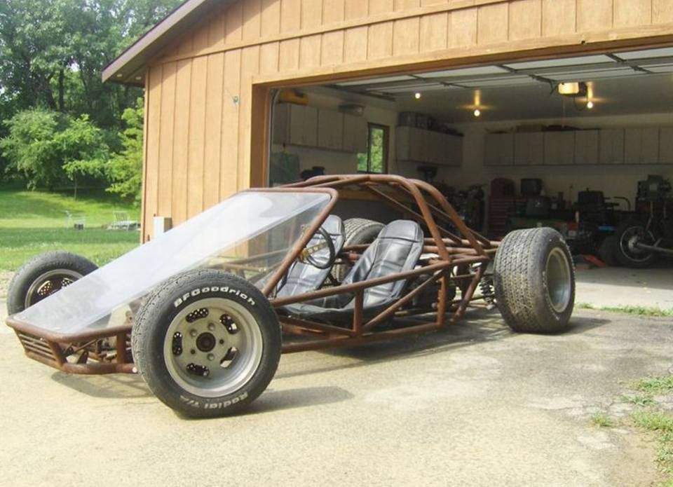 Race Car Tube Chassis Home Build BAD ASS   Great Lakes The Largest Offroad  Forum In The Midwest