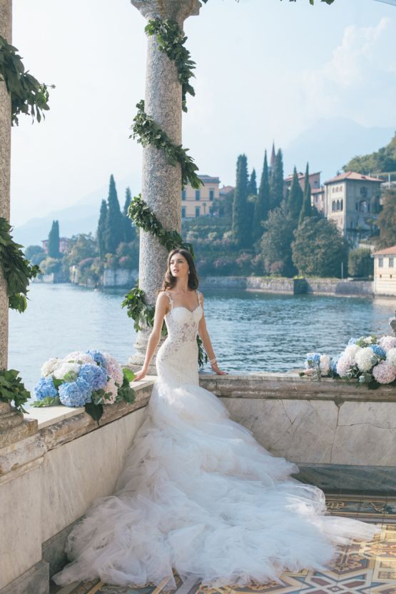Gorgeous Lake Como Wedding With Epic Fashion Style Photography
