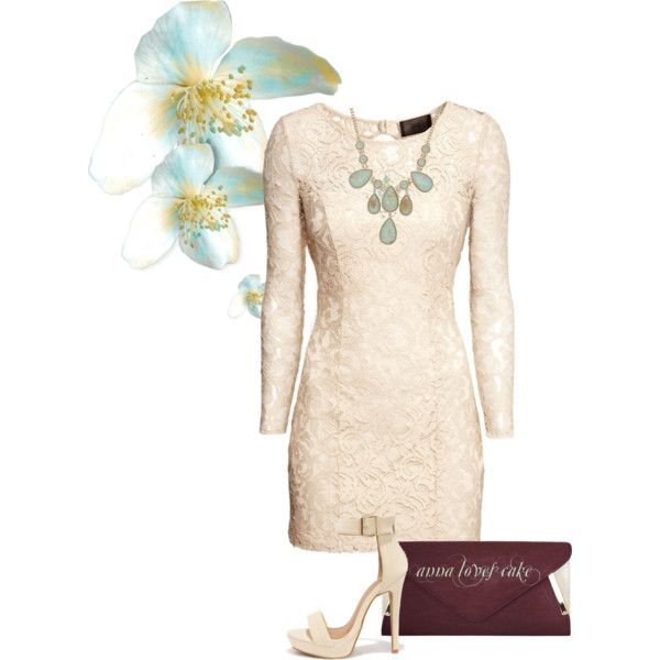 anna loves cake by mzchunkylover310 on Polyvore featuring moda, H&M and ALDO