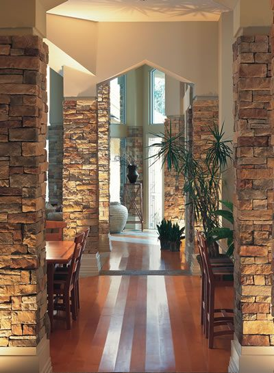 Faux Stone Pillar Wraps