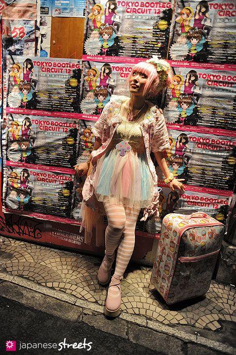 Kumamiki  shibuya, tokyo  Fairy kei  SPRING 2012,  Kjeld Duits    ARTIST, 22  kumamiki @ twitter