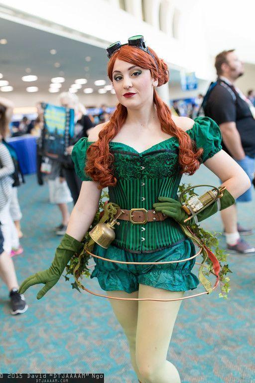 Who Wore It Best Steampunk Poison Ivy Poison Ivy Cosplay Gothic Fashion Steampunk Fashion