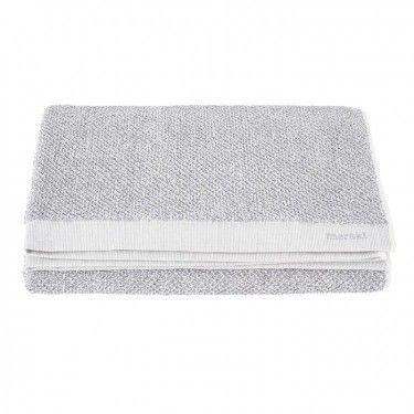 MERAKI Towel Extra Large White/Grey