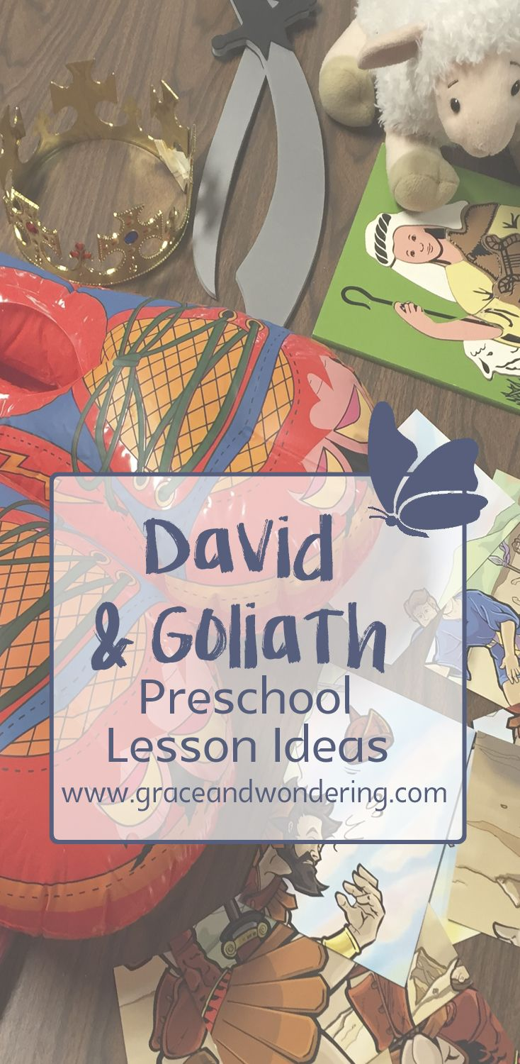 David and Goliath Lesson | Sabbath activities for my babes