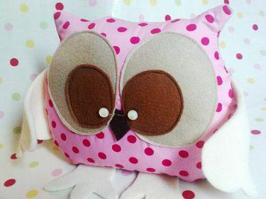 Eule Eulen Spielzeug Kuschelkissen Eulenkissen Owls Eulen