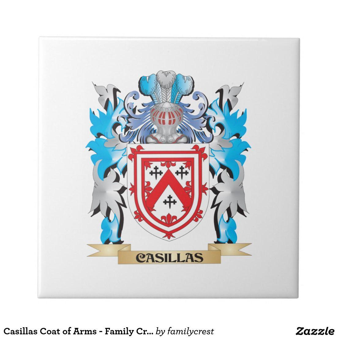Casillas coat of arms family crest ceramic tile arms casillas coat of arms family crest ceramic tile biocorpaavc