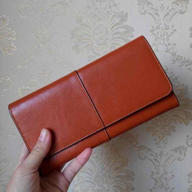 a6210698d OTHERCHIC Ladies Women Wallets Genuine Leather Purses Long Wallet Woman  Elegant Female Red Women's Wallets Leather Wallet Purse