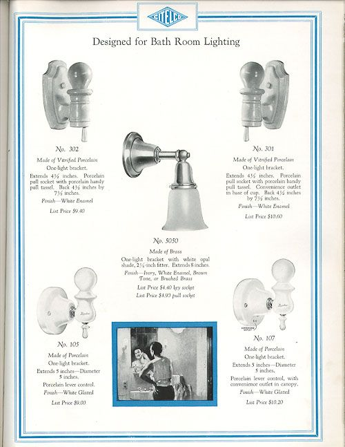 The history of porcelain light fixtures - classics for ...