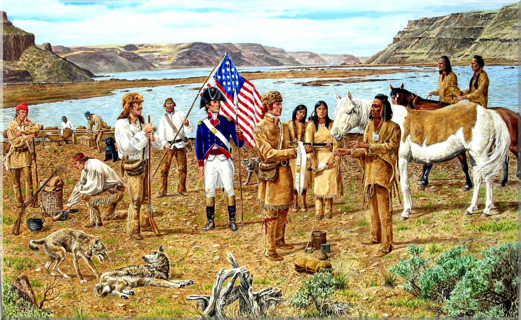 Lewis And Clark Prints Bing Images