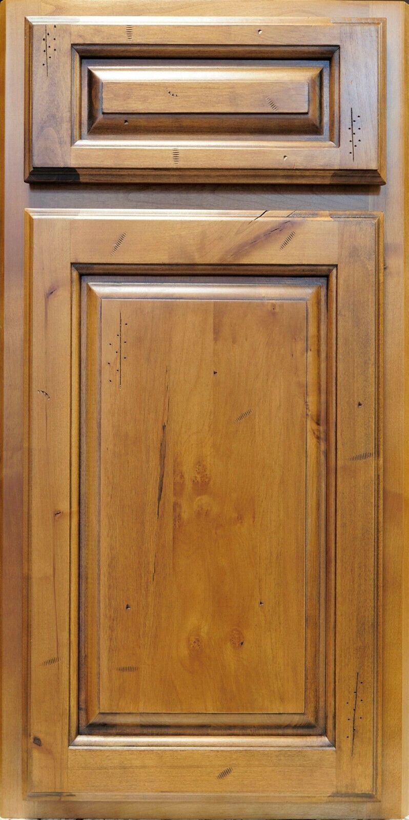 Rustic Pecan Maple Kitchen Cabinets-Sample door-RTA-All ...