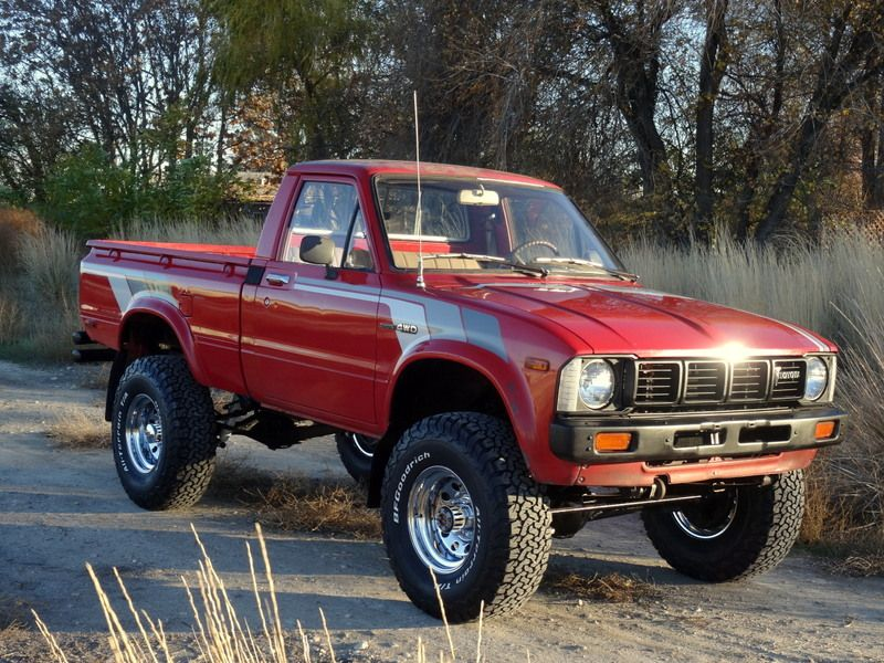 1981 Toyota Pickup Hilux 4x4 Willys Toyota Jeep Vw