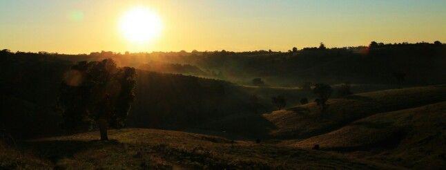 Sunrise at Modanville Qld Australia