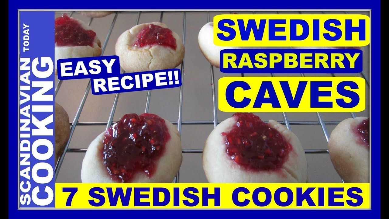 How to make easy swedish raspberry cave cookies hallongrottor how to make easy swedish raspberry cave cookies hallongrottor forumfinder Image collections