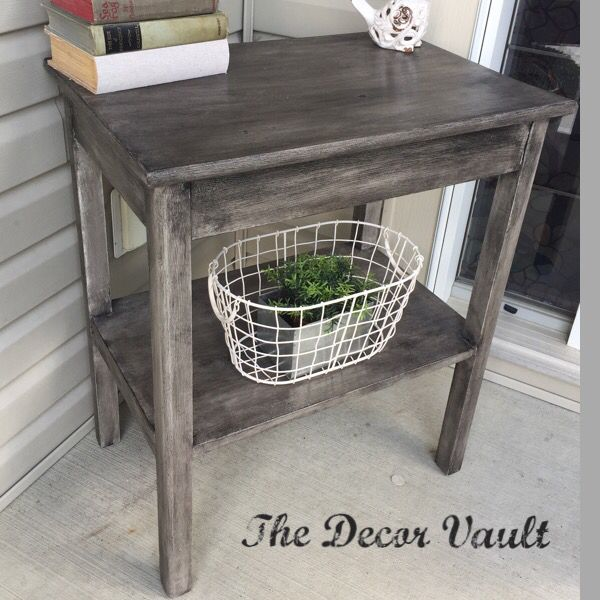 Chalk Paint Kitchen Cabinets Durability: Console Table, Painted In Annie Sloan Pure White, And 2