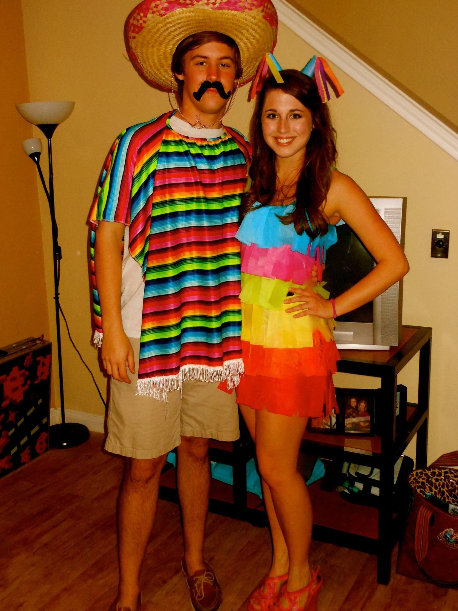mexican and pinata costume - Mexican Themed Halloween Costumes