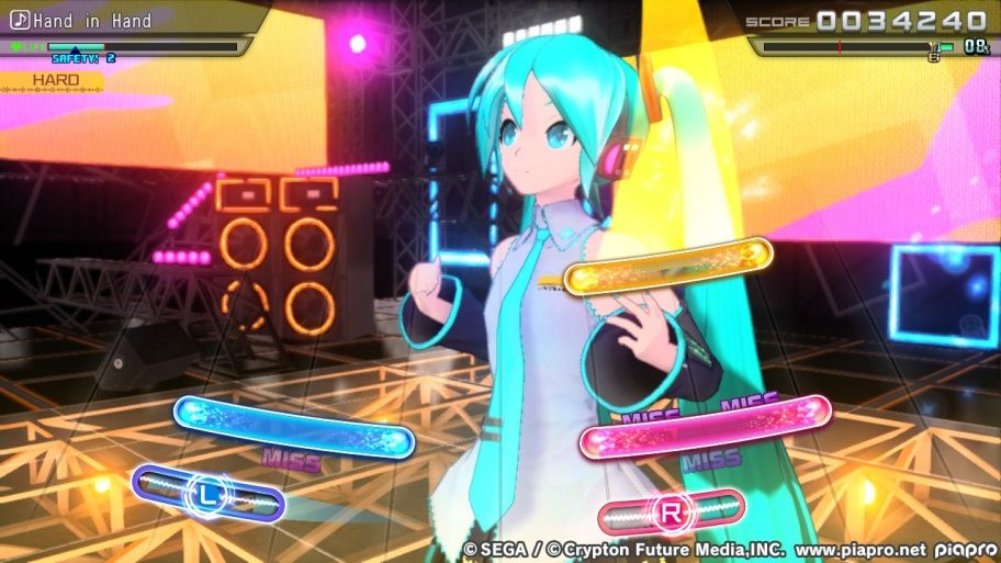Hatsune Miku Diva Mega Mix Project Overview Hatsune Miku Hatsune Miku