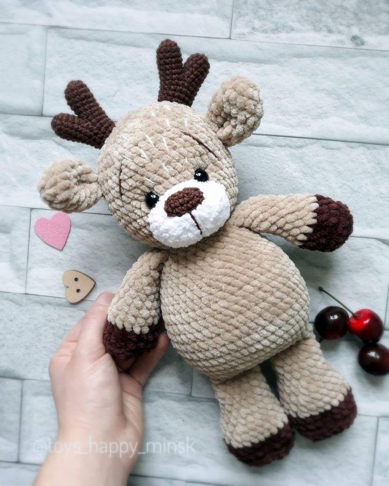 Crochet deer amigurumi free pattern – Free Amiguru