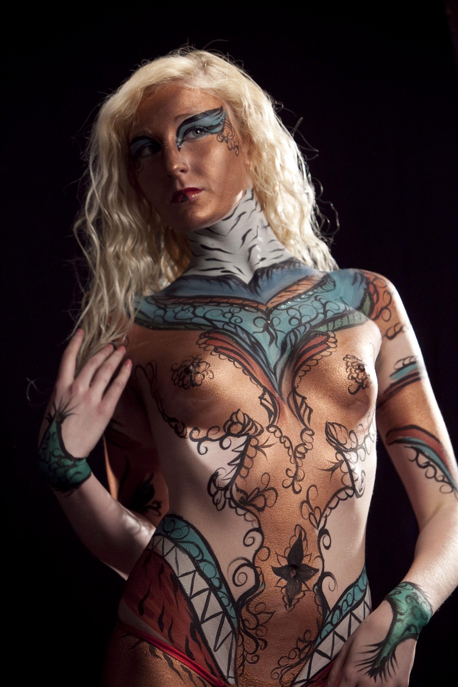 Body Paint by Philadelphia Body Painter Jennifer Montgomery
