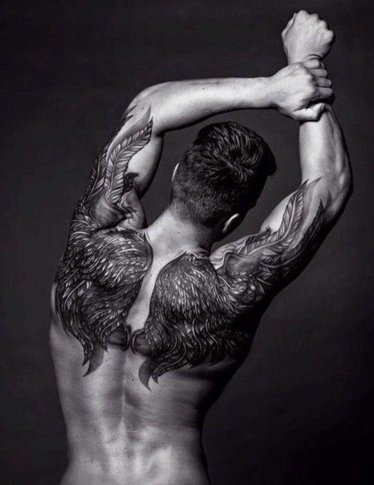 Angel Wing Tattoos For Men Spiritual Tattoos For Men Tattoos