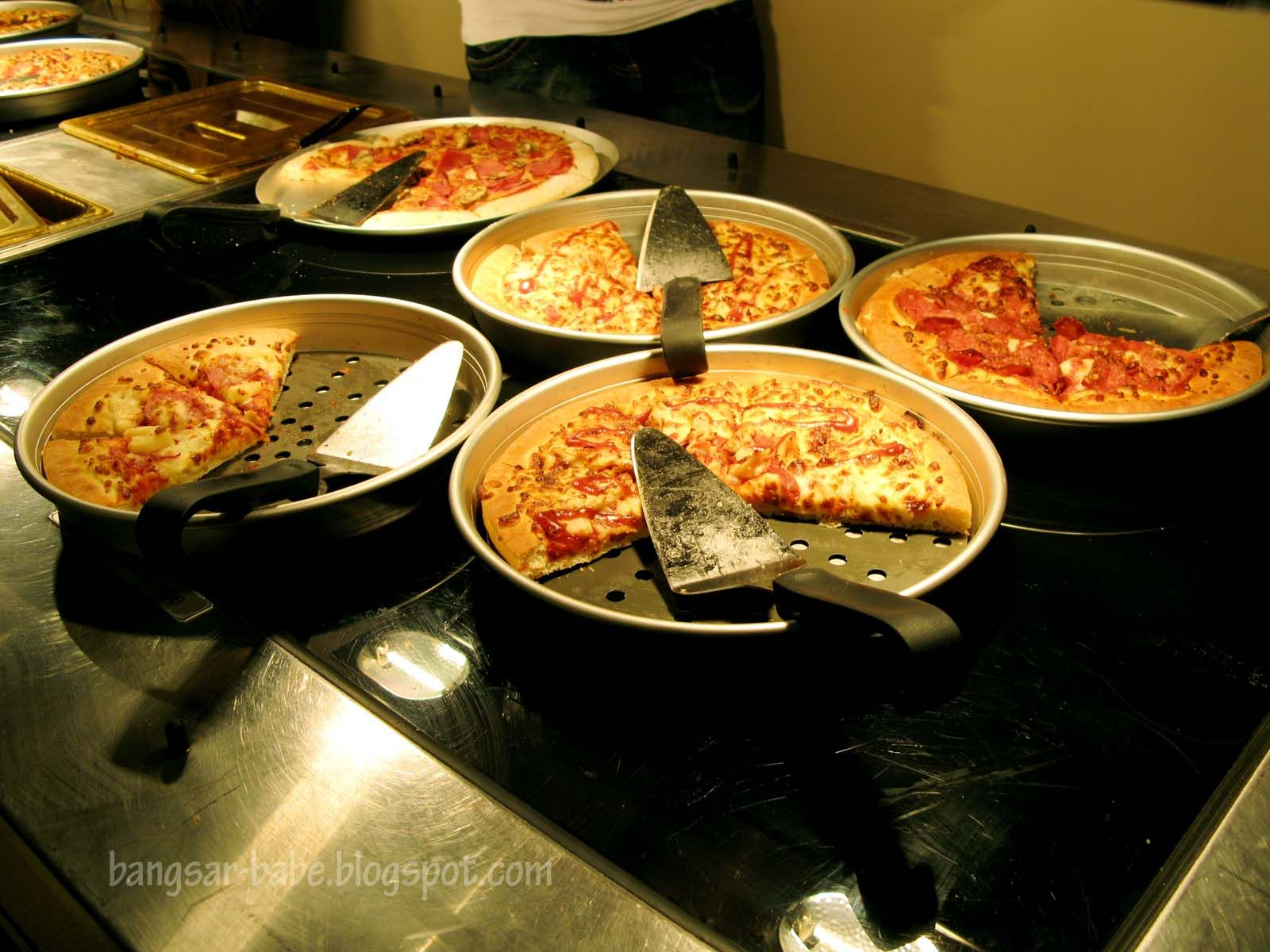 When is pizza hut buffet