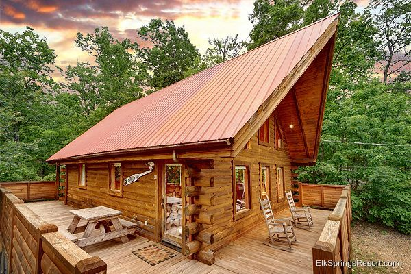 Buckhaven 1 Bedroom Honeymoon Cabin In Gatlinburg Gatlinburg Cabin Rentals Honeymoon Cabin Gatlinburg Cabins