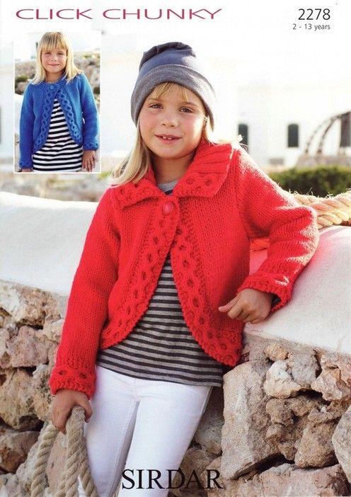Sirdar--Cardigans (ages 2 - 13)   Stuff to knit   Pinterest   Tejido