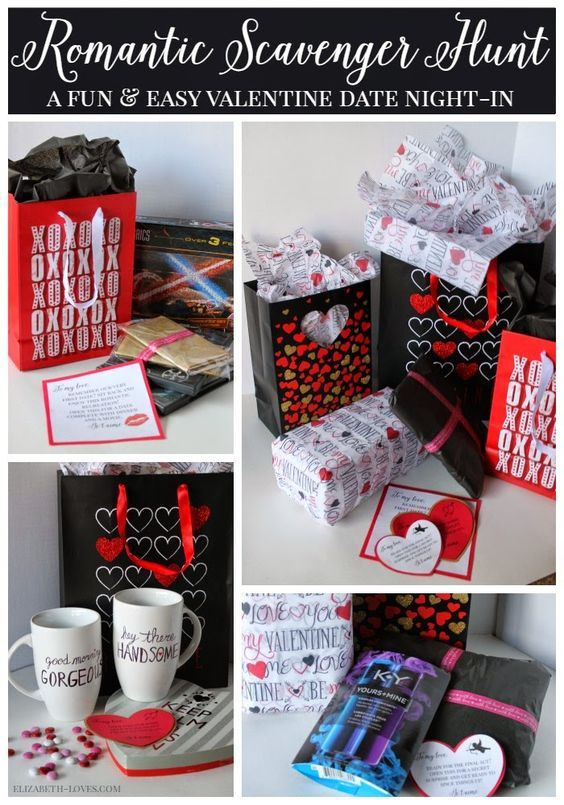 Romantic Valentine S Scavenger Hunt Date Night Diy Baby