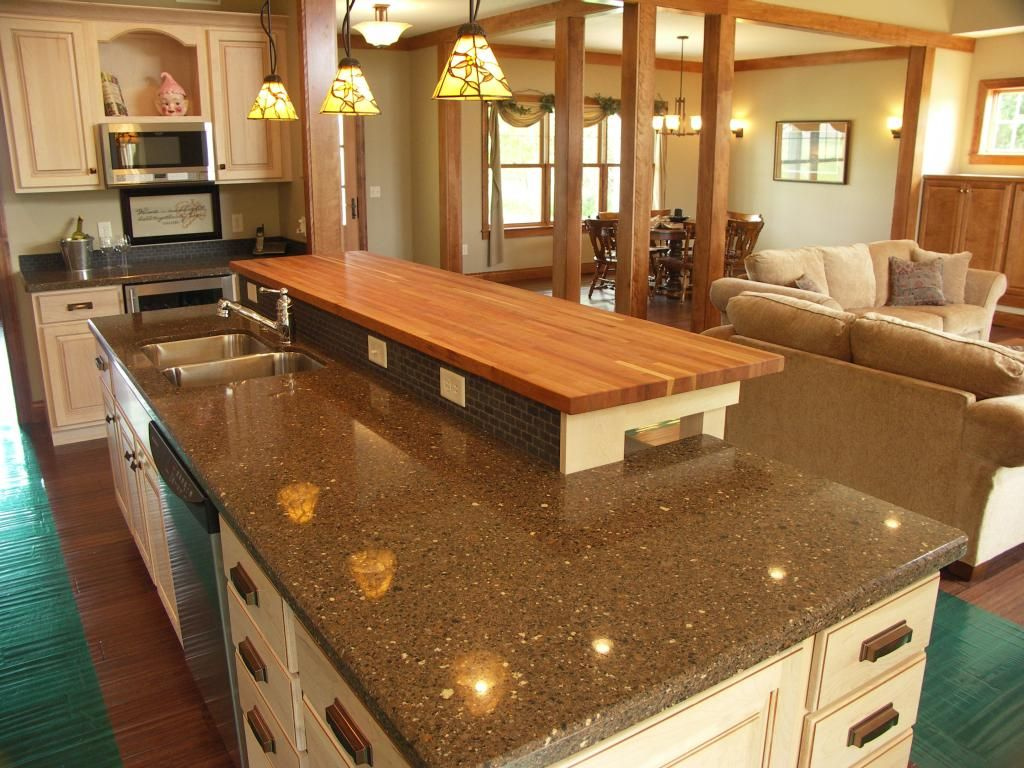 American Cherry Butcher Block We love seeing how these