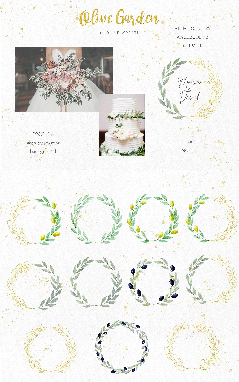 Olive Garden Clipart Collection Clip Art Leaf Illustration Garden Clipart